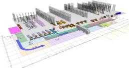 Logistikplanung | Logistikkonzept & Materialflussplanung Gesamtlayout Orgeda GmbH Wolfschlugen Stuttgart
