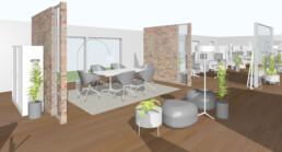 Innovative Büroraumplanung Raumkonzept Orgeda GmbH
