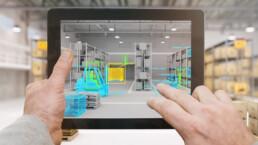Augmented Reality in Logistikplanung & Fabrikplanung Orgeda GmbH Wolfschlugen Stuttgart