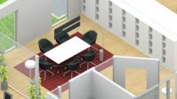 Innovative Büroraumplanung | Raumkonzept | Desksharing Orgeda GmbH